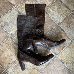 Franco Sarto Real Leather Boots